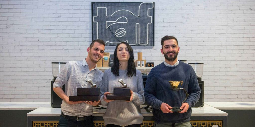 Taf Coffee Athens Awards