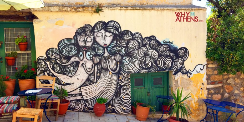 Experiencing Athens Sonke Street art