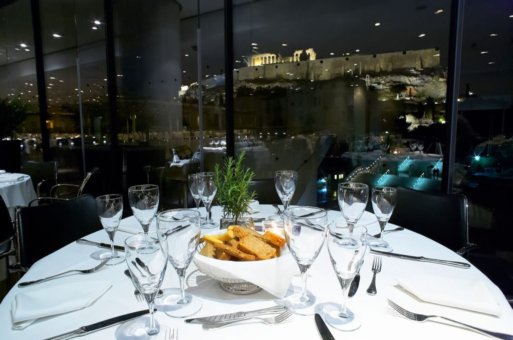 Events at the acropolis museum why athens for Acropolis cuisine