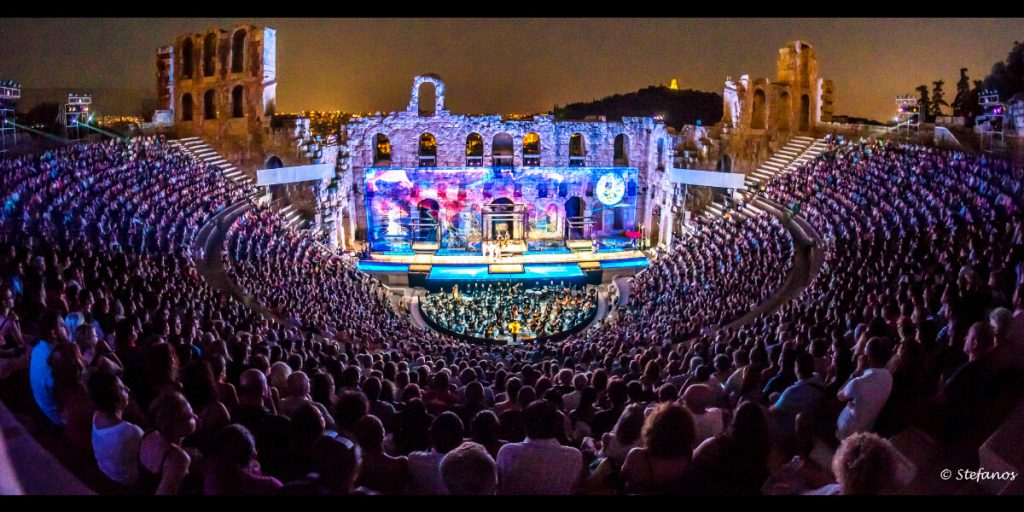 Athens and Epidaurus Festival Odeon Herodes Atticus