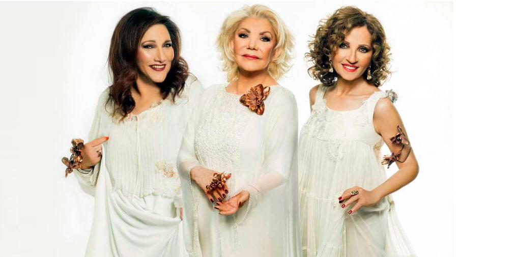 Greek singers Athens Marinella Vitali Glykeria