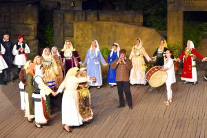 Dora Stratou Traditional Greek dancing