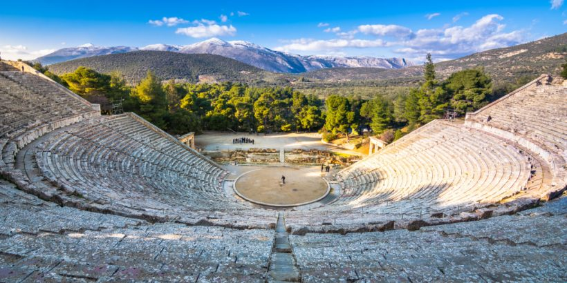 Ancient Epidaurus Theatre Programme Tickets