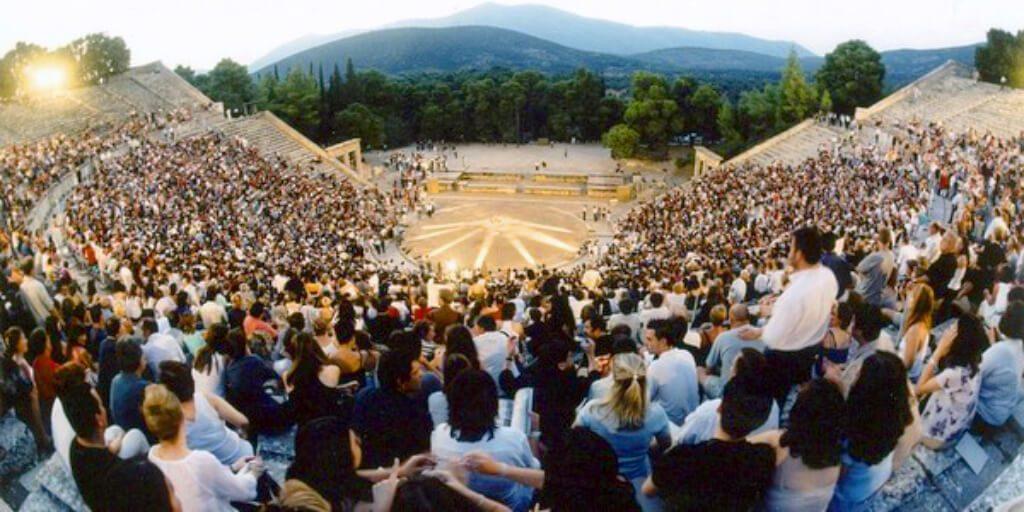 Epidaurus Theatre Programme Tickets