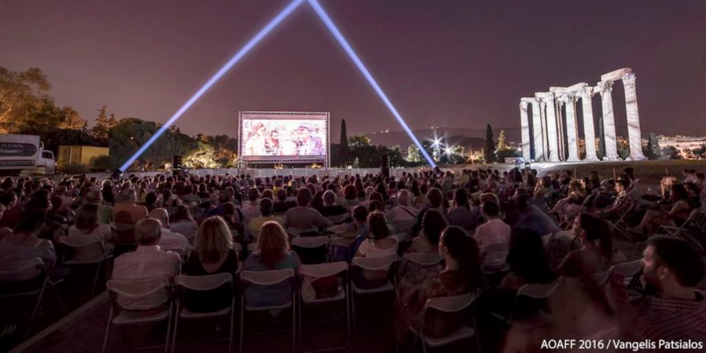 Athens Open Air Film Festival Olympian Zeus Screening