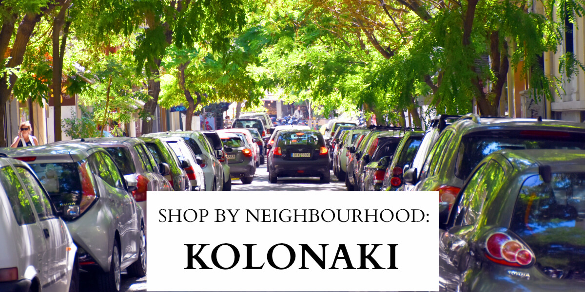 Athens Shopping A Shopper S Guide To Kolonaki Why Athens
