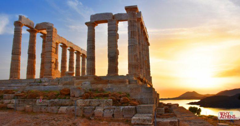 Cape Sounio Temple Poseidon Athens