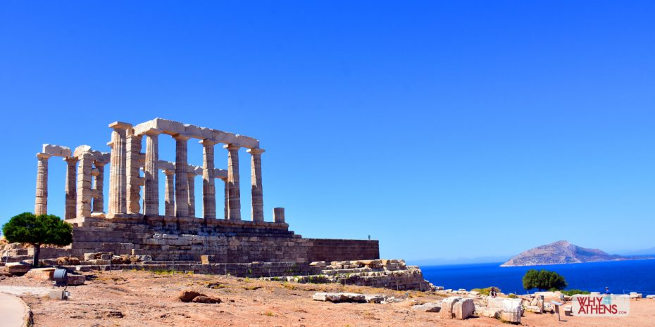 Cape Sounio Temple Poseidon Athens