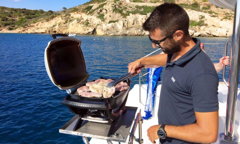 Sailing Athens Riviera BBQ