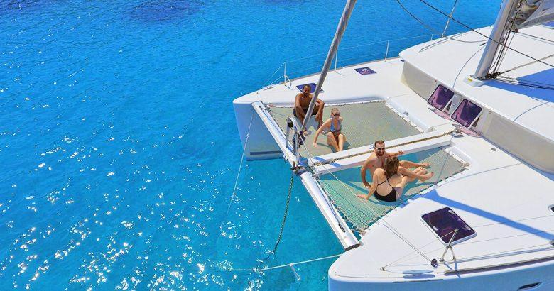 Sailing Athens Riviera Catamaran