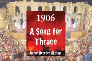 1906 Song for Thrace Odeon Athens