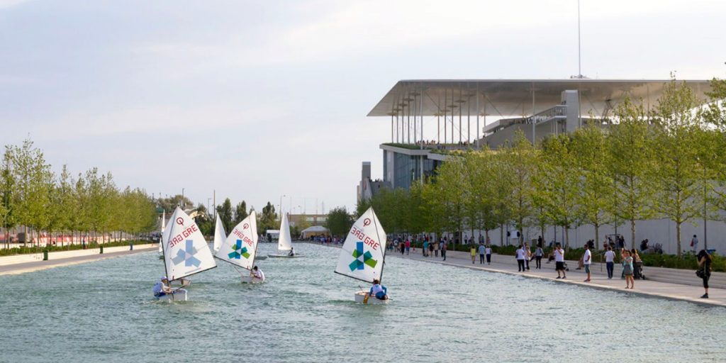 Events Stavros Niarchos Centre Tours Canal Sailing
