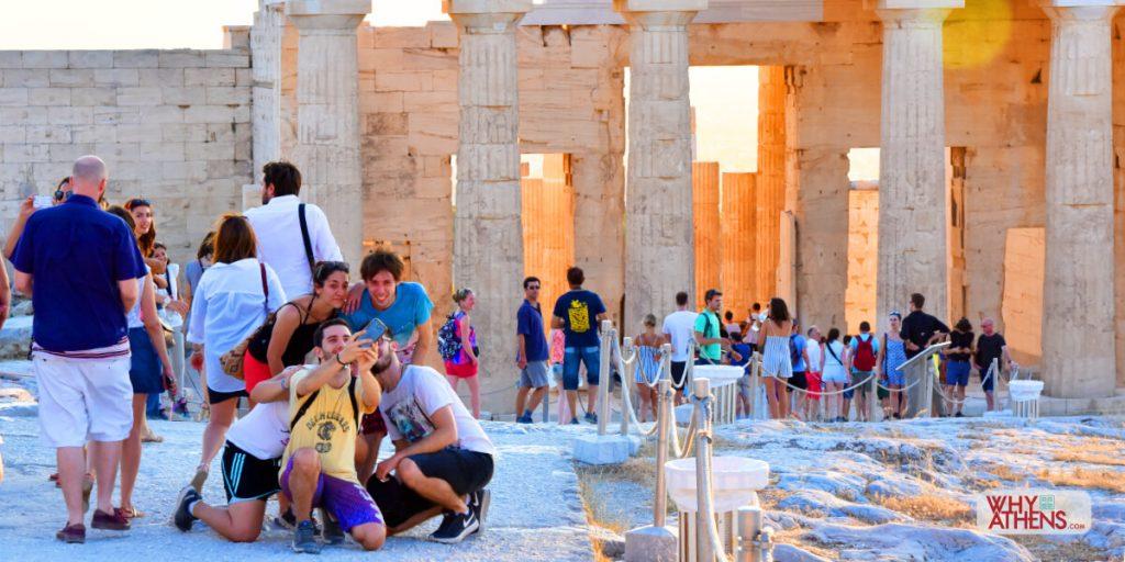 Selfie Athens Acropolis