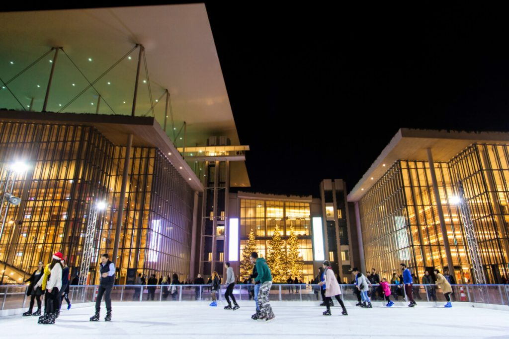 Whats on in Athens Christmas Ice Skating SNFCC