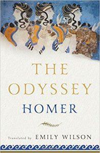 Greek Books Odyssey Emily Wilson
