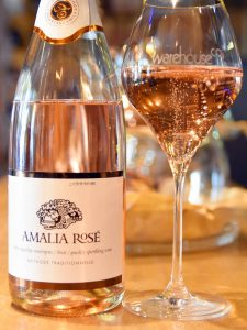 Greek Sparkling Wines Athens Amalia Rose Warehouse CO2