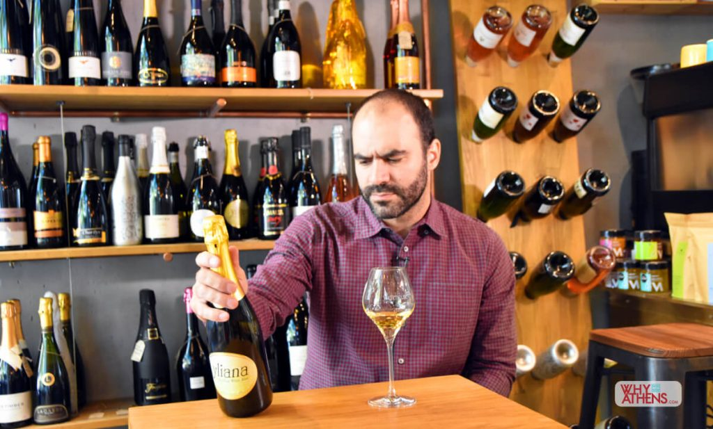 Greek Sparkling Wines George Kanopolous Warehouse CO2