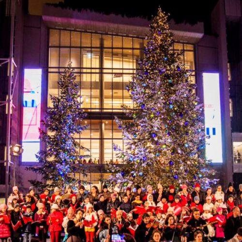 Stavros Niarchos Center Christmas