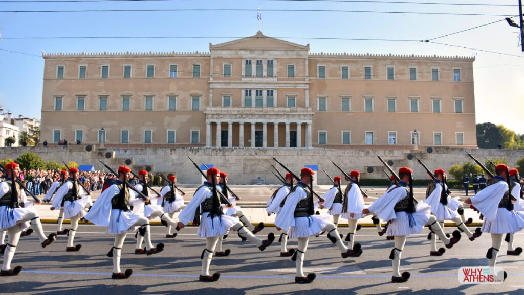 Athens Greece for Kids Evzones Changing Guard