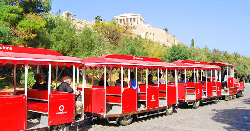 Athens Greece for Kids Happy Train