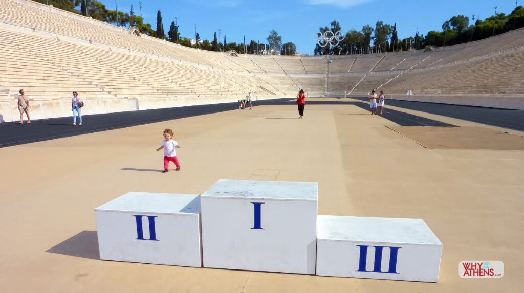 Athens Greece for Kids Panathenaic Stadium
