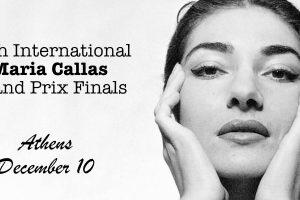 Maria Callas Grand Prix Finals Athens