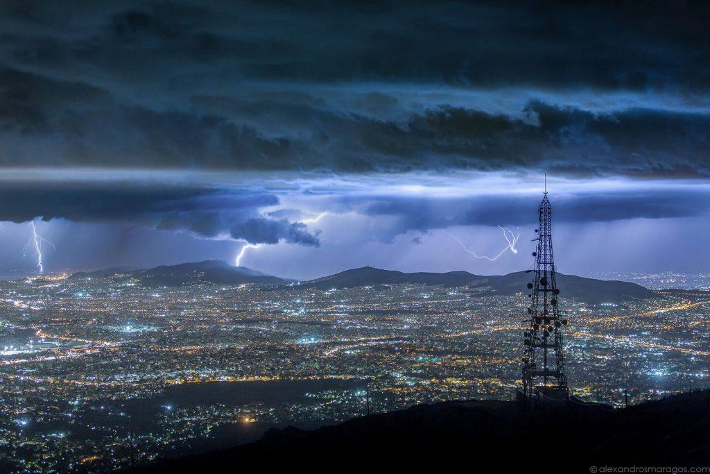 city-of-athens-short-film-alexandros-maragos-lightning