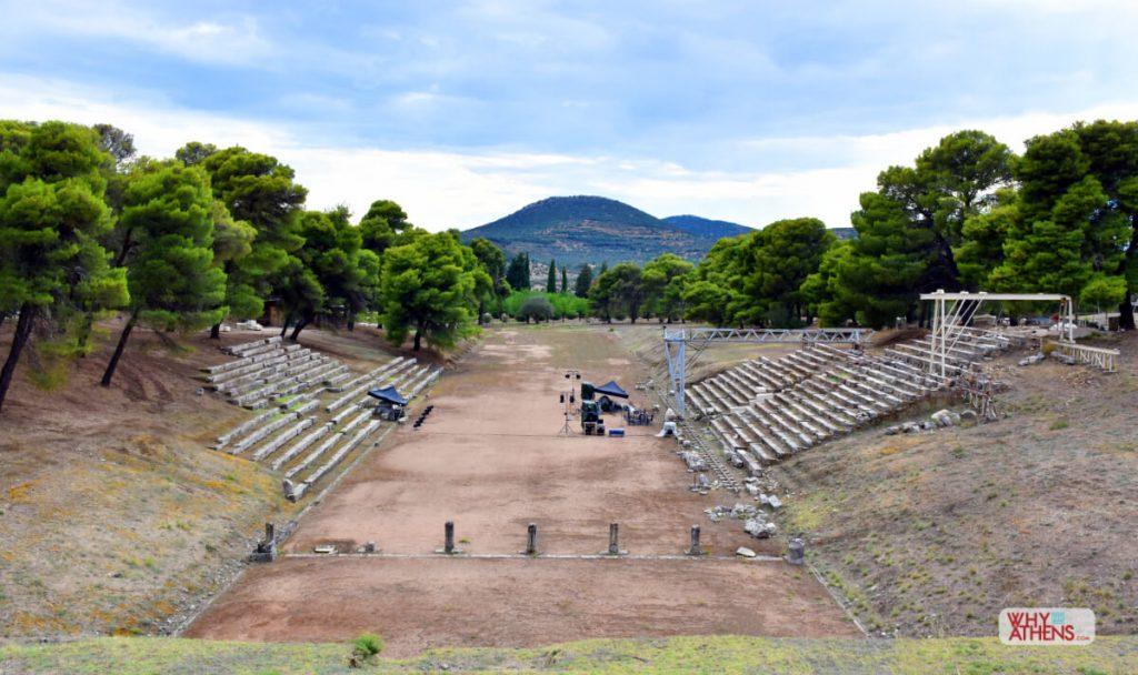 Ancient Stadium Epidaurus Athens Festival