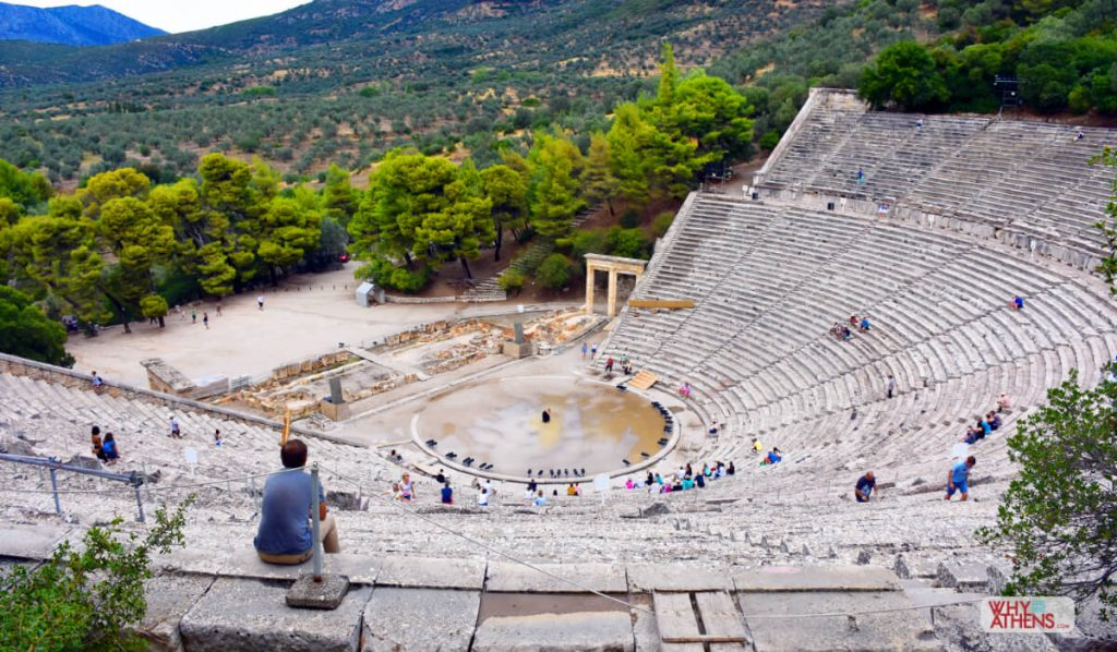 Ancient THEATRE Epidaurus Athens Festival