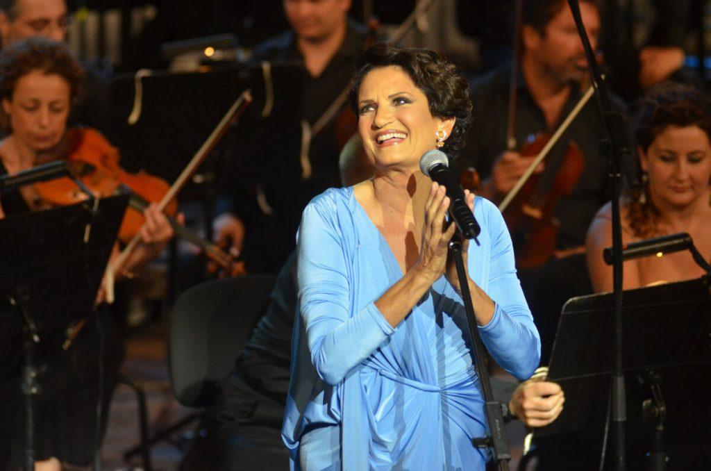 Alkistis Protopsalti Gazarte Greek Singers Athens