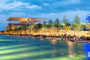 Stavros Niarchos Center Athens Events Canal