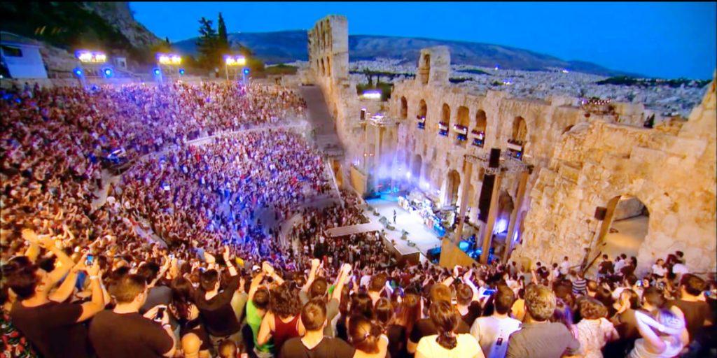 Sting Acropolis Odeon Herodes Athens