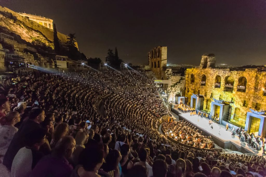 Tosca Odeon Herodes Athens Festival CROWD