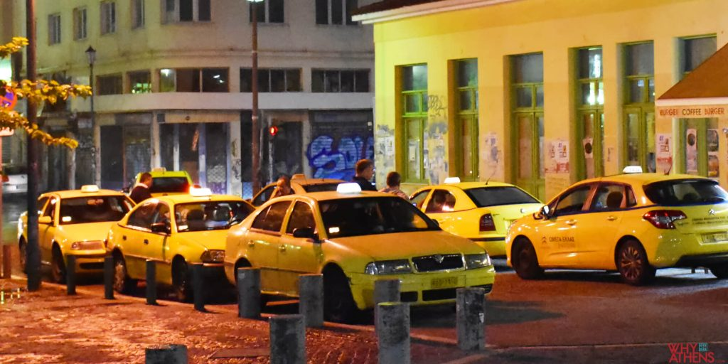 Getting a taxi in Athens - Airport, Seaport & City | Why Athens City