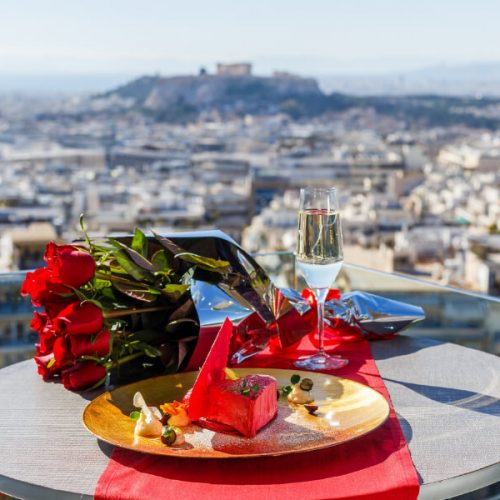 Valentines Day Athens Lycabettus Hotel