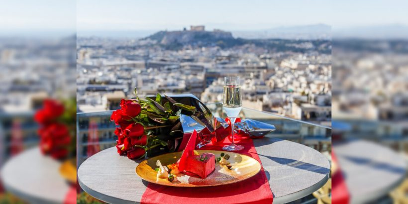 Valentines Day Athens Lycabettus Hotel
