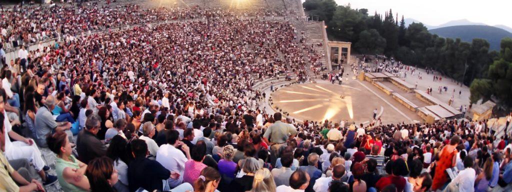 Oedipus Colonus Theatre of Epidaurus Athens Festival