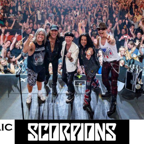 Scorpions Athens Panathenaic Stadium
