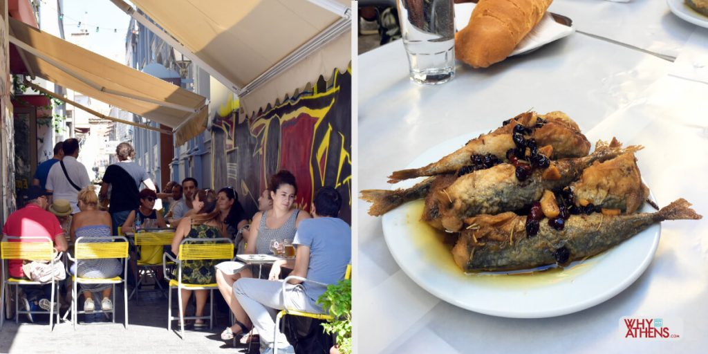Where to eat in Athens Atlantikos Psiri