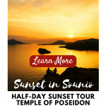 Why Athens Cape Sounio Sunset Tour