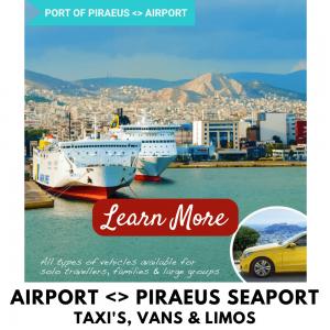 Athens Taxis Piraeus Port Transfer
