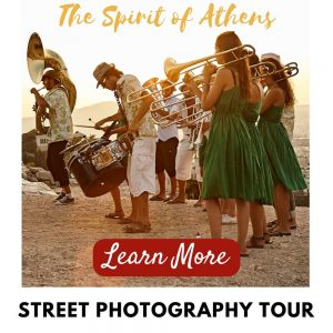Athens Street Photography Tour