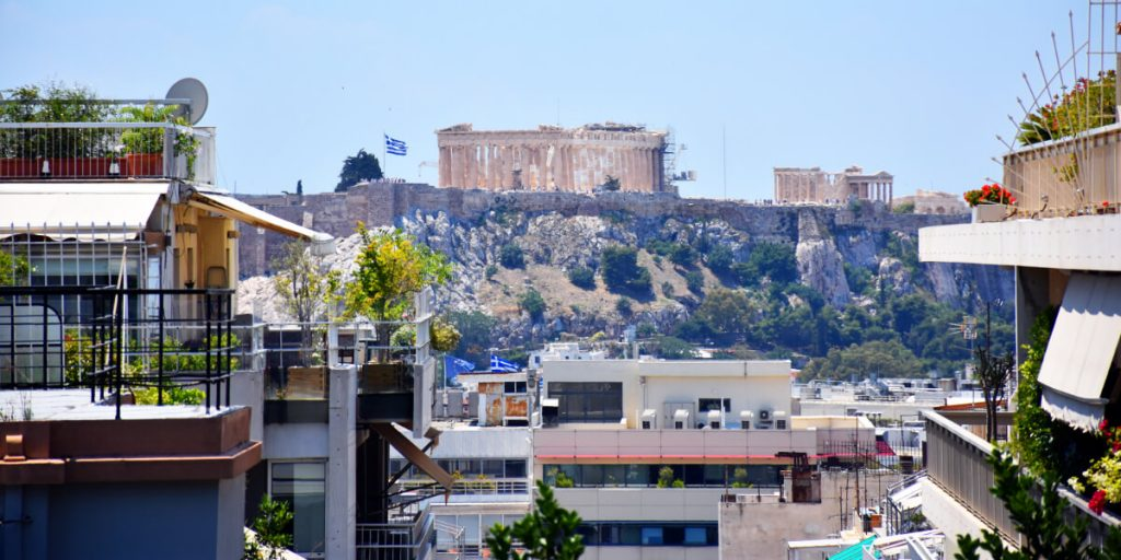 Property in Athens Cityscape Acropolis