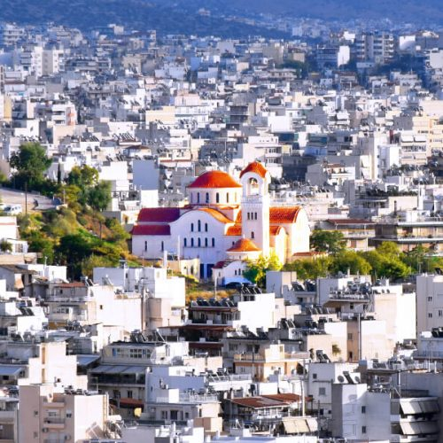 Buying Property in Athens Cityscape Suburb