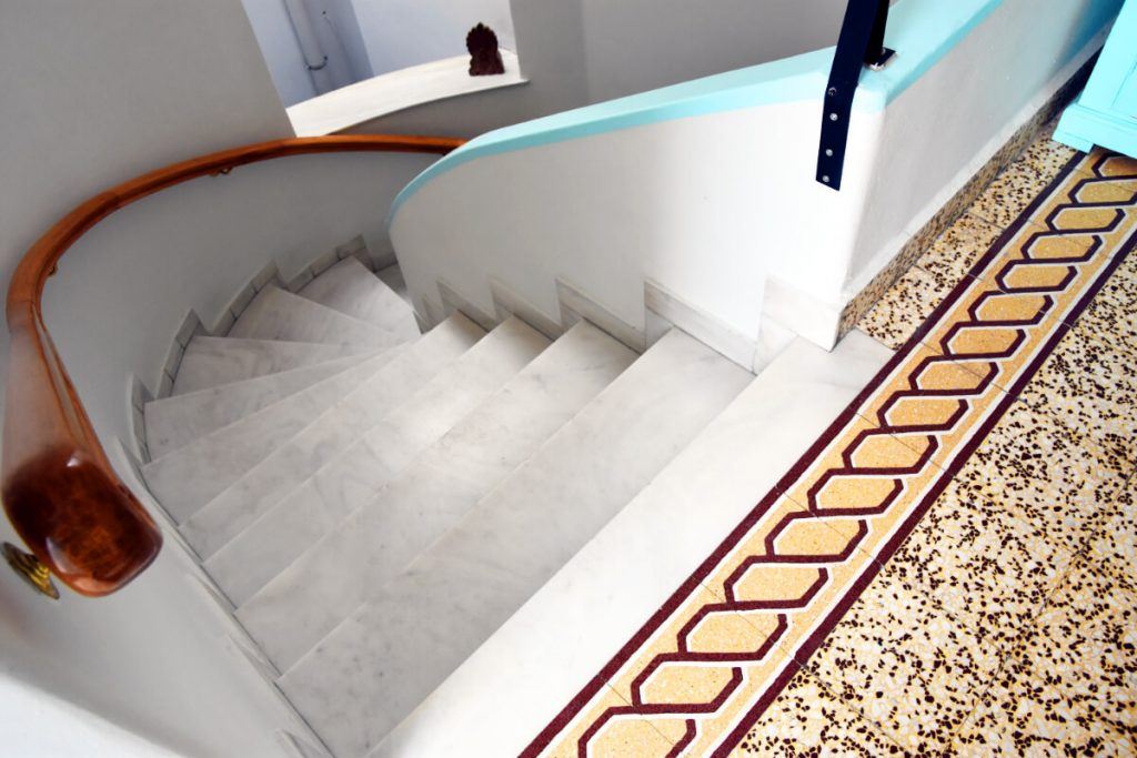 Property in Athens Neoclassical Stairwell