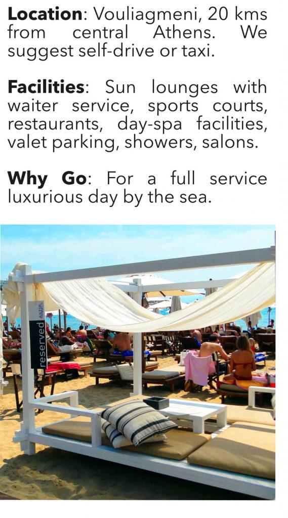 Best Athens Beaches Astir Beach Vouliagmeni