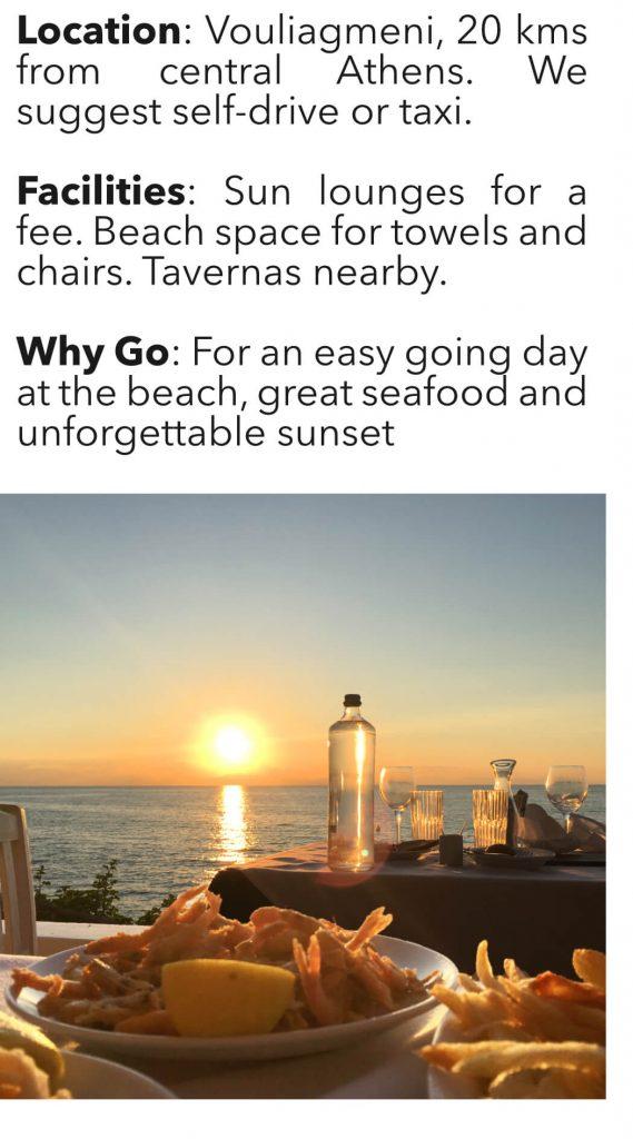 Best Athens Beaches Kavouri