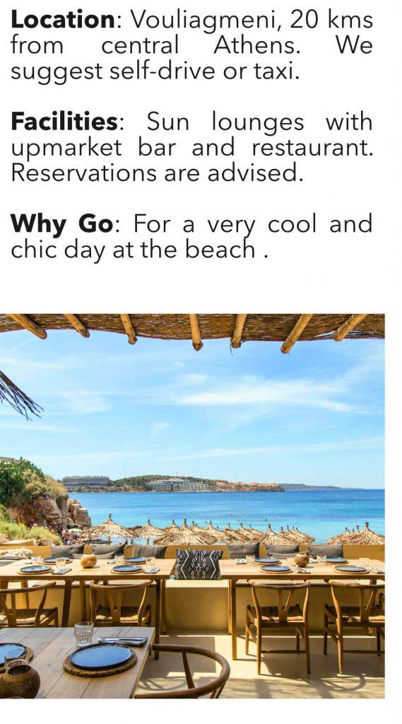 Best Athens Beaches Krabo Vouliagmeni
