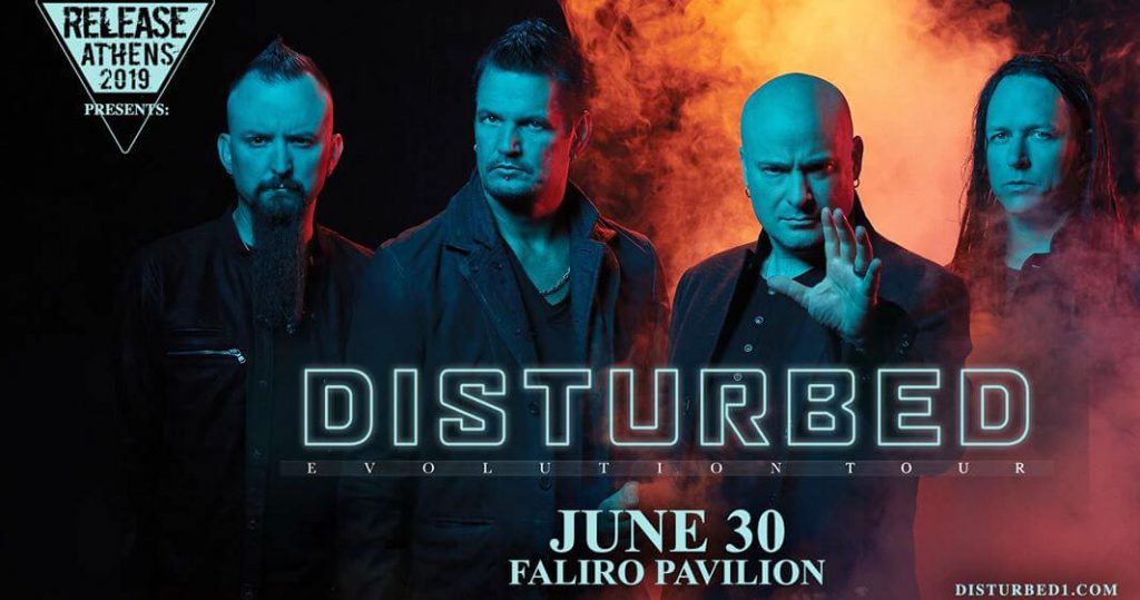 Disturbed Athens Release Festival