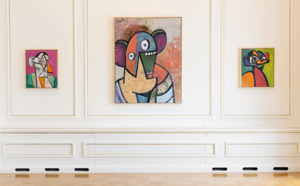 George Condo Athens Cycladic Museum